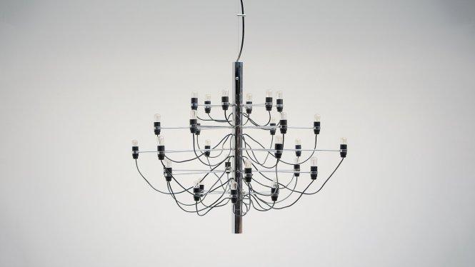 Vintage Chandelier By Gino Sarfatti For Arteluce
