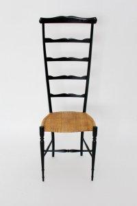 Vintage Italian High Back Ladder Chair from Chiavari ...