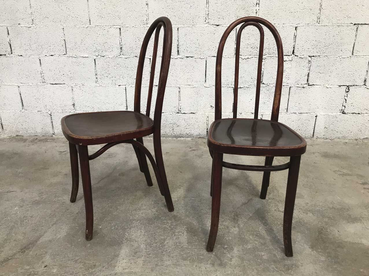 Cafe Chairs For Sale Vintage Bistro Chairs From Thonet Set Of 6 For Sale At Pamono