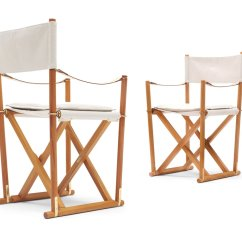 Folding Z Chair Doll High Vintage Mk 16 Safari Chairs By Mogens Koch For Rud
