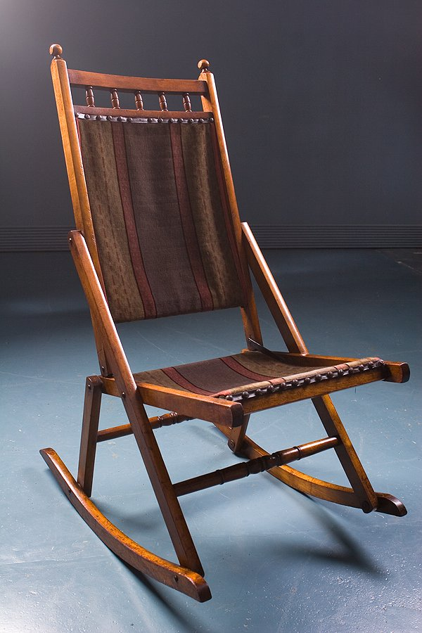 Antique Rocking Chair 1900s for sale at Pamono