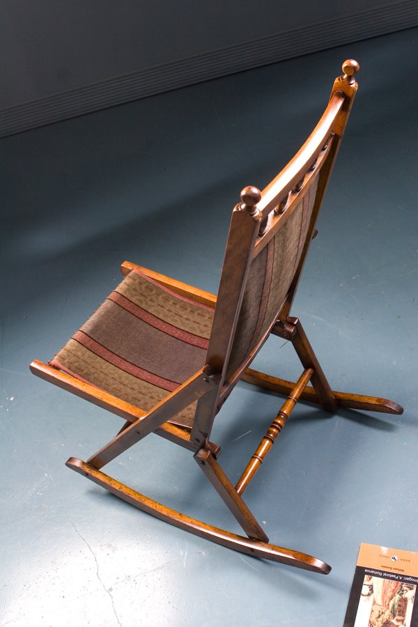 modern rocking chair singapore oval back dining slipcovers antique chair, 1900s for sale at pamono