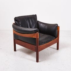 Diy Leather Belt Chair Tent And Rental Vintage Black Lounge With Supporting