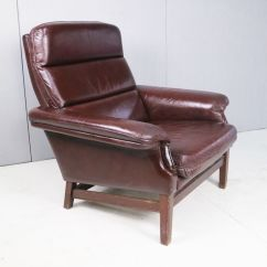 Mid Century Danish Chair Office Chairs Home Depot Brown Leather Club For Sale At Pamono