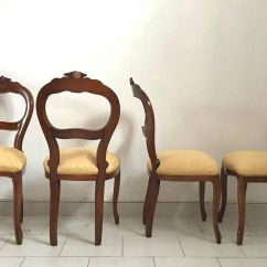 Italian Dining Chairs Australia Red Leather Club Chair Louis Xv 1950s For Sale At Pamono