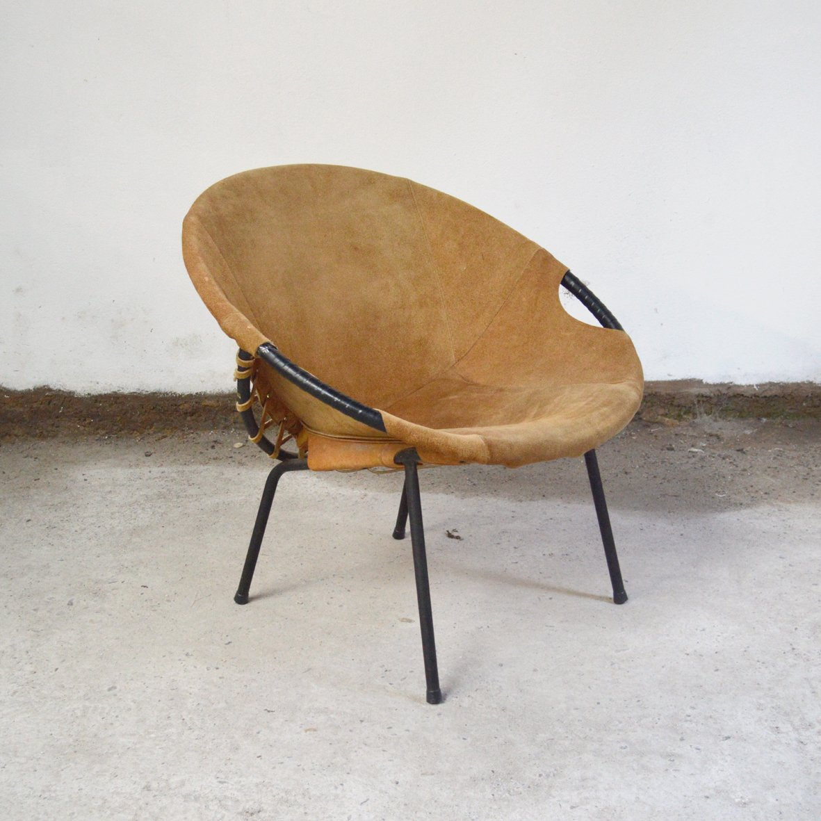 co chairs circle tall back chair from lusch erzeugnis 1960s for sale at pamono