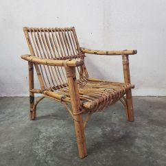 Rattan Arm Chair Kids Plush Mid Century French Armchair 1960s For Sale At Pamono