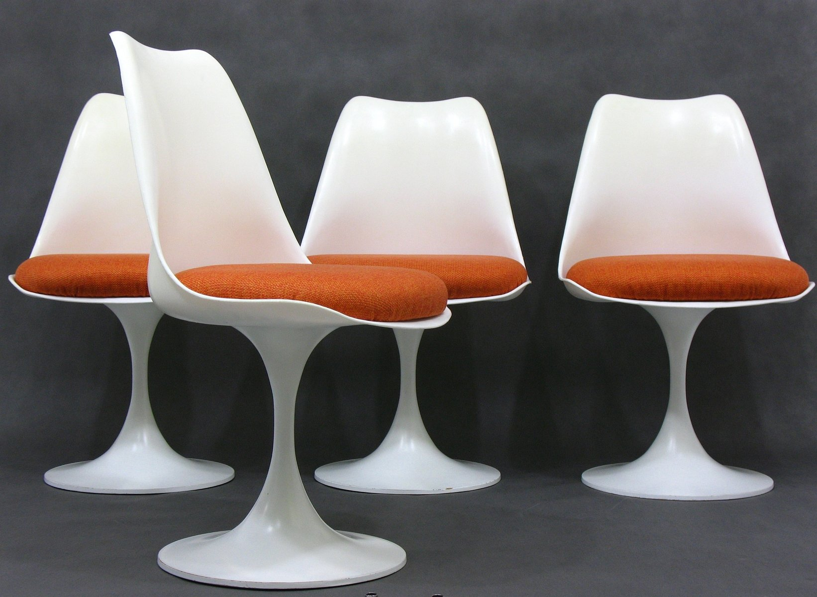 white plastic dining chairs best swivel glider recliner mid century space age german