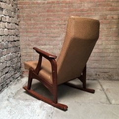 Modern Rocking Chair Singapore Delta Avery Nursery Glider Grey Vintage Chair, 1960s For Sale At Pamono