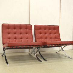 Sofa For Van Singapore Waverly Barcelona Chairs By Mies Der Rohe Knoll
