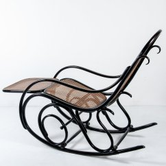 Rocking Chair Footrest Rv Captain Chairs Seat Covers Antique No 10 With From Thonet For