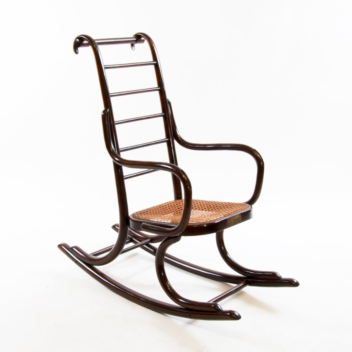 1920s rocking chair pottery barn kids beach art nouveau bentwood child 39s by professor