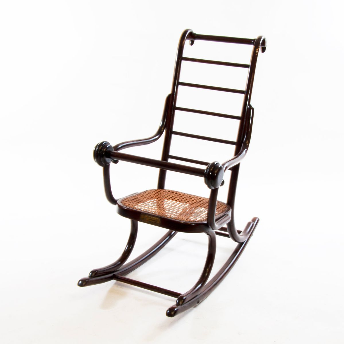 1920s rocking chair for toddler room art nouveau bentwood child 39s by professor