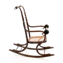 1920s Rocking Chair Nursery Canada Art Nouveau Bentwood Child 39s By Professor