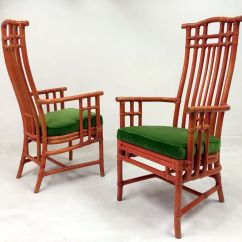 Green Dining Chairs Uk Mesh Office Chair Vintage Red Bamboo And Velvet From