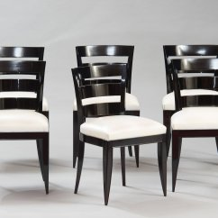 Art Deco Kitchen Chairs Discount Desk Vintage Dining Set Of 6 For Sale At Pamono