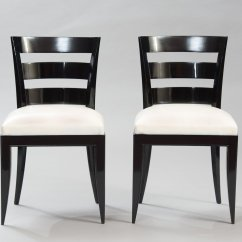 Art Deco Kitchen Chairs Padded Folding For Sale Vintage Dining Set Of 6 At Pamono