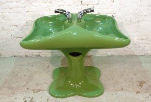 Doppelseitiges Vintage Waschbecken von Luigi Colani für ...