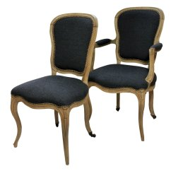 French Antique Chairs For Sale Lumbar Spine Support Chair Dining 1780s Set Of 4 At