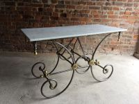 Antique French Marble Pastry Table for sale at Pamono