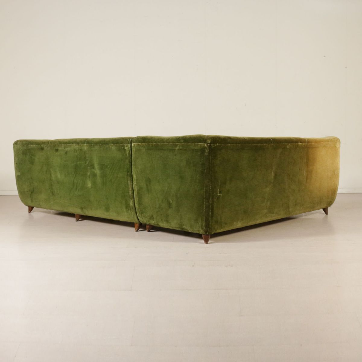 duck feather corner sofa urban definition vintage italian with cushions for sale