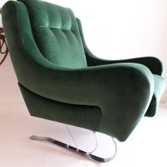 Emerald Green Velvet Chair Patio Stacking Chairs Canada French Cantilever Lounge