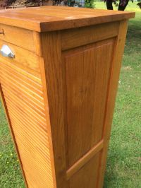 Mid-Century Cabinet with Sliding Shutter, 1950s for sale ...