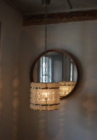 Crystal Pendant Lamp from Tyringe Crafts, 1962 for sale at ...