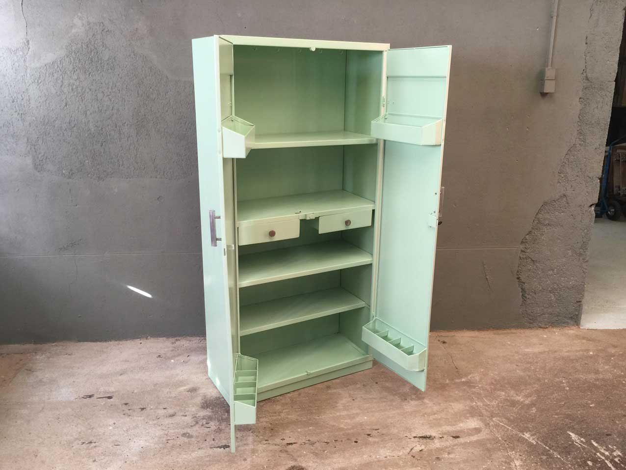 metal kitchen cabinets for sale vinyl flooring cabinet from tolix 1950s at pamono