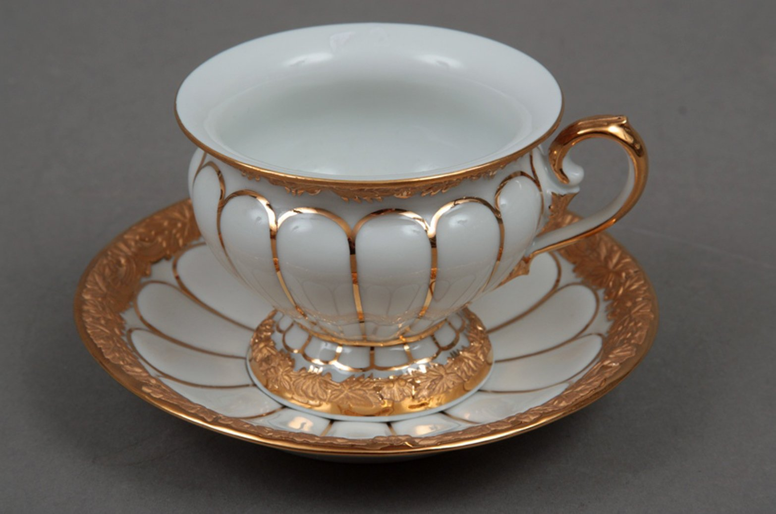 3 piece sofa set for sale bed new york city meissen porcelain cup and saucer with golden pattern ...