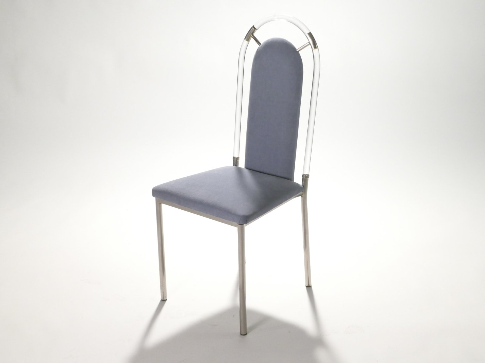 Plexiglass Chairs Plexiglass Dining Chairs From Maison Jansen 1970s Set Of 8