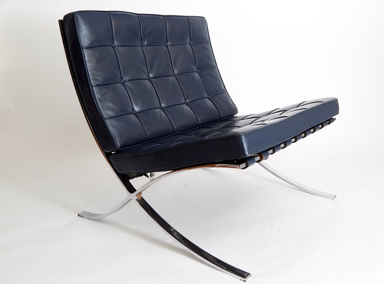 mies van der rohe barcelona chair thomas jefferson swivel vintage mr90 by ludwig