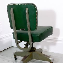 Swivel Chair Mechanism Suppliers Zero Gravity Lounge Cup Holder Vintage Desk From Remington Rand For Sale At