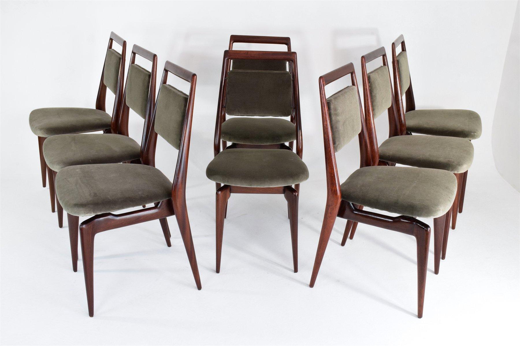 velvet dining chairs australia massage chair recliner mid century italian set of 6 for
