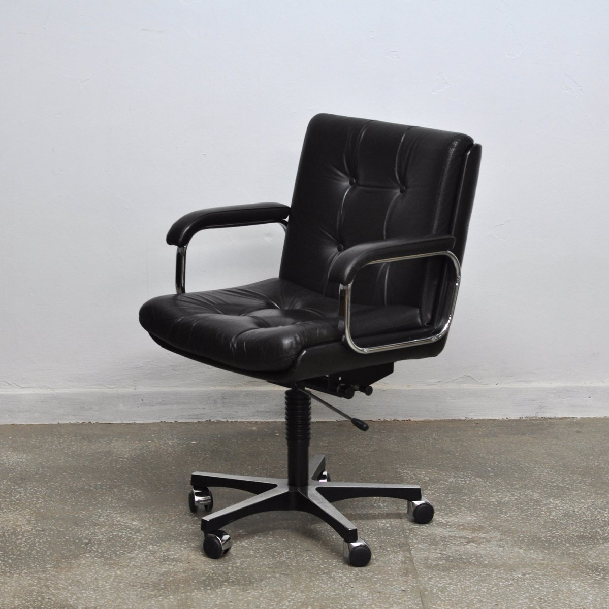 ergonomic chair norway ghost chairs vintage norwegian office from ring mekanikk for sale