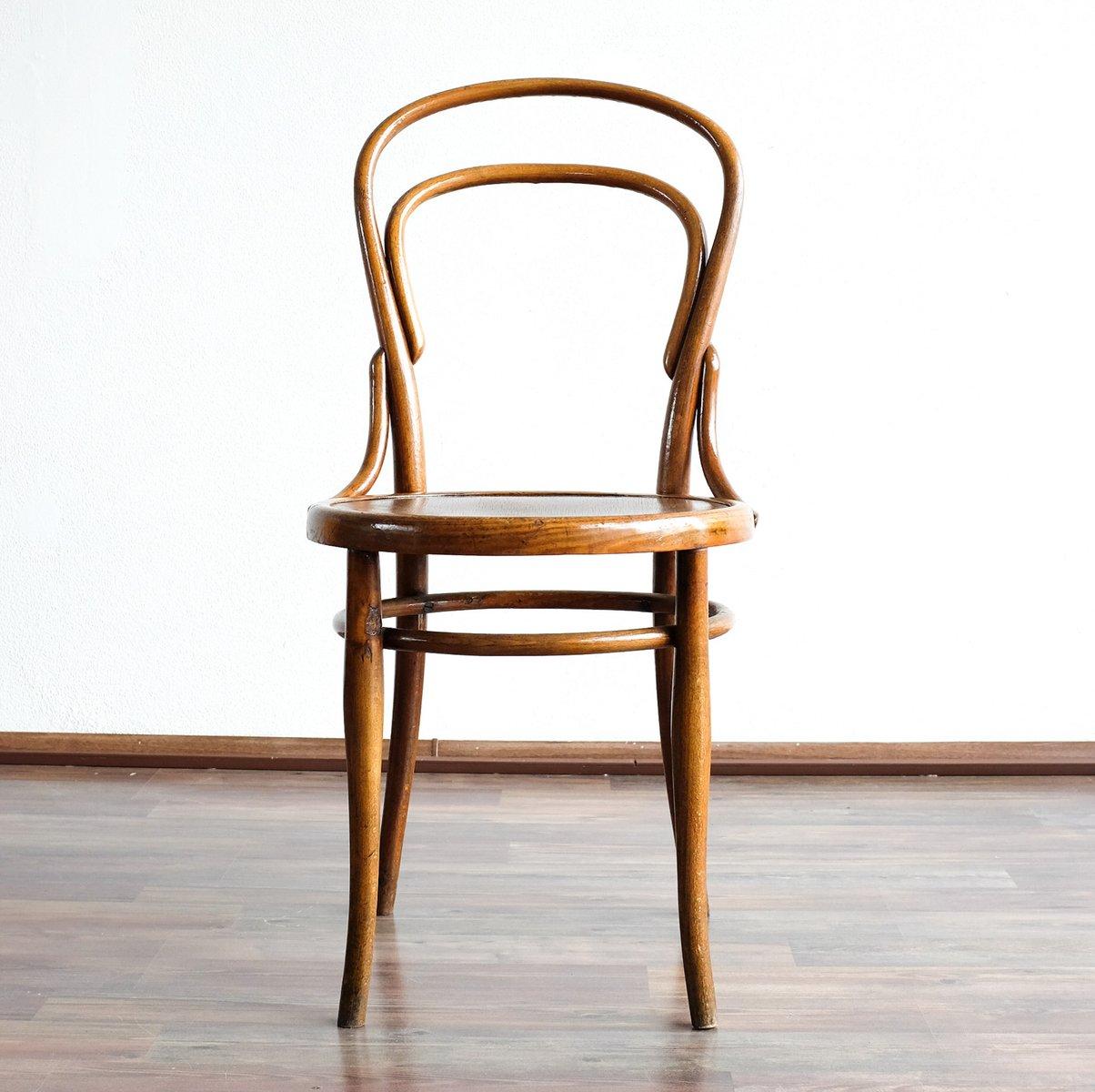 Chaise No 14 De Thonet 1890s En Vente Sur Pamono