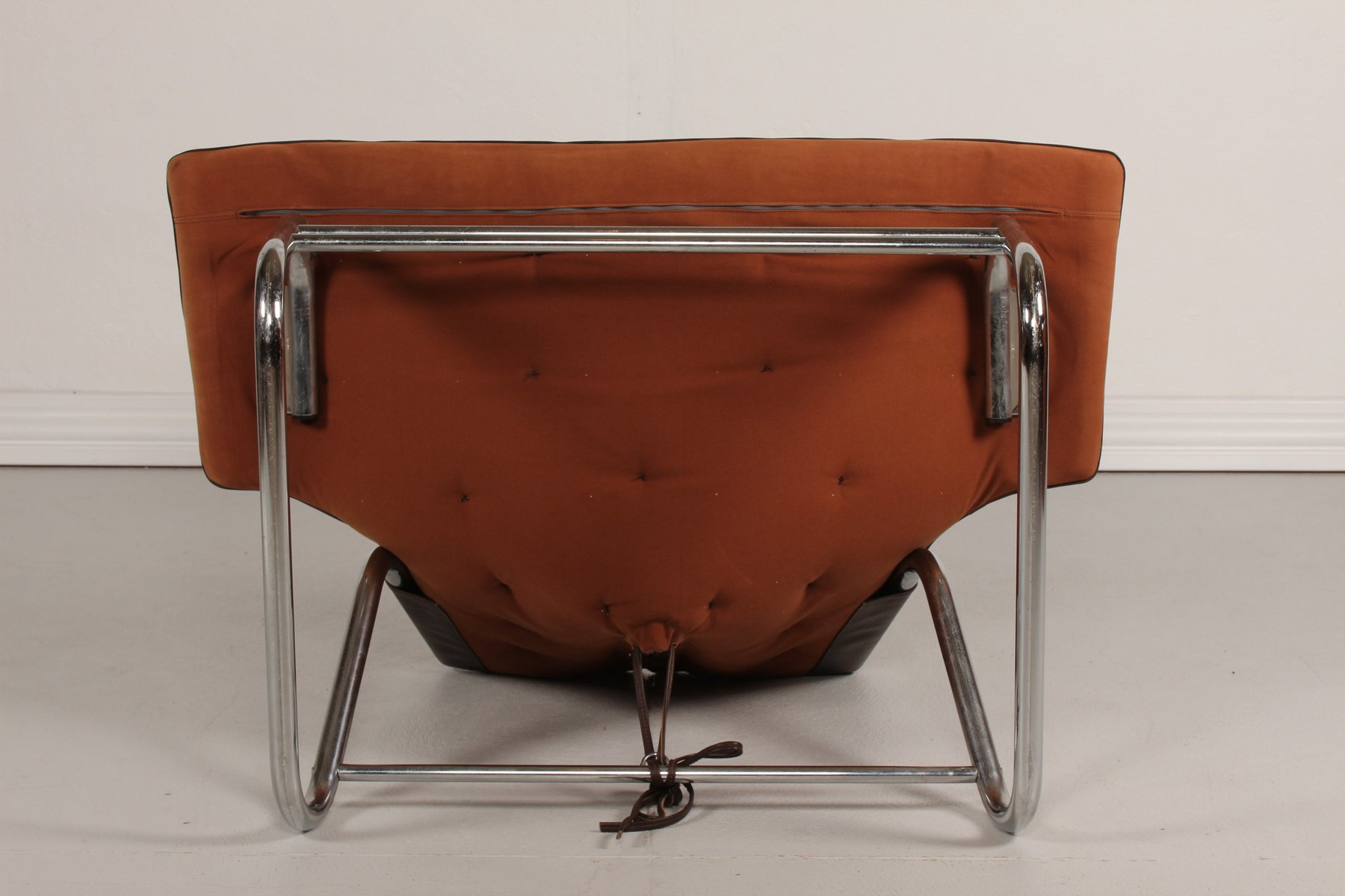 antique metal chairs for sale natuzzi recliner chair vintage and brown leather danish 1970s
