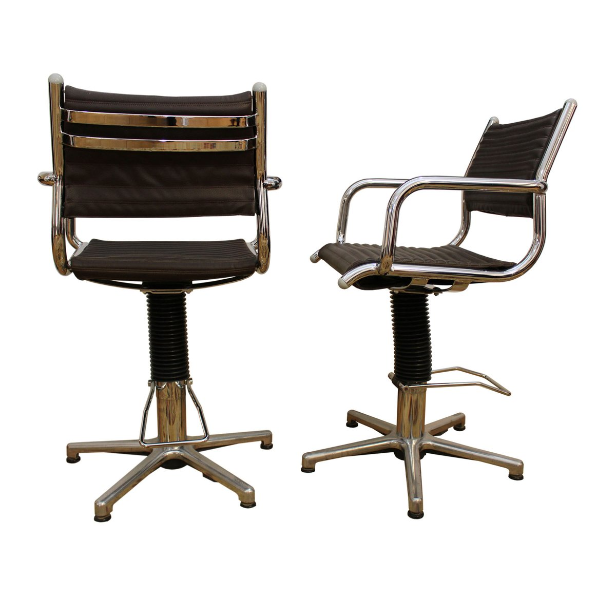 revolving chair manufacturer in nagpur hanging revit file swivel chairs from olymp 1970s set of 2 for sale at pamono