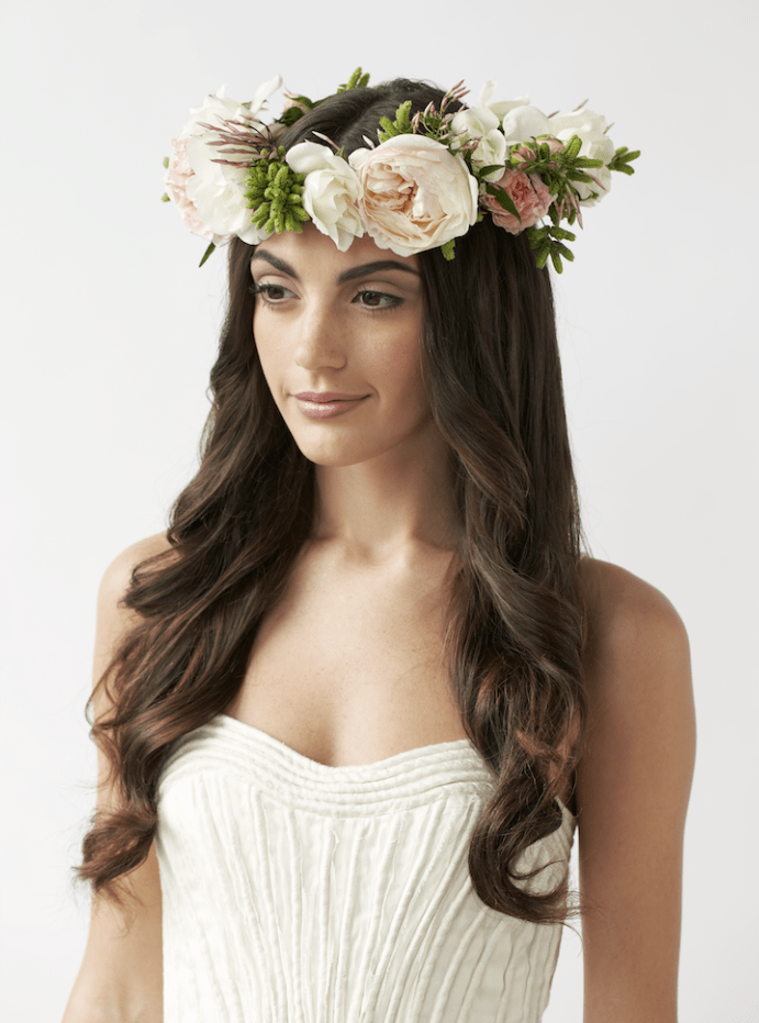 PHOTOS 32 Gorgeous Fresh Flower Crowns Amp Headpieces For