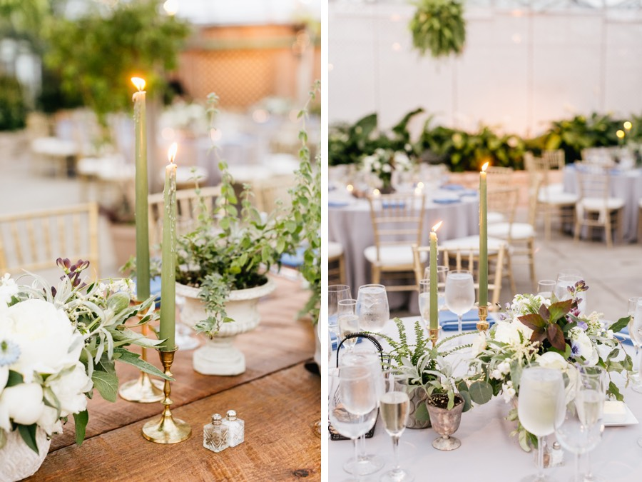 A Modern, Greenery-Filled Wedding At Philly's Horticulture