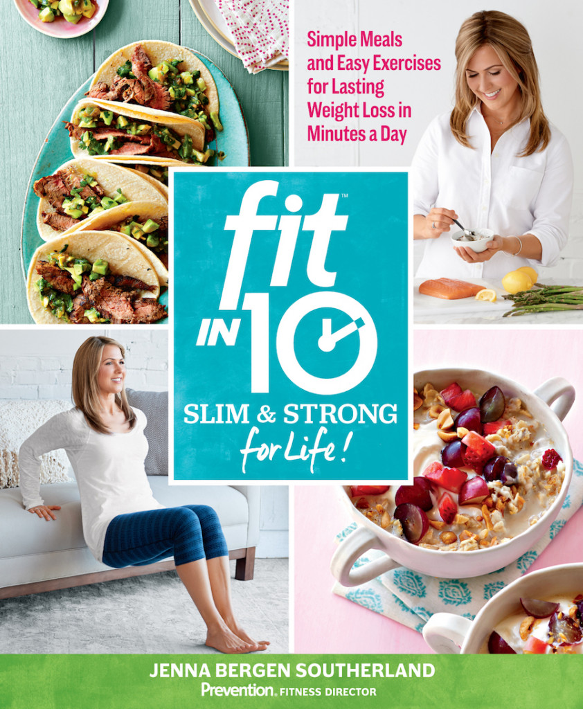 This New Book Is Filled With 10-Minute Workouts and Recipes