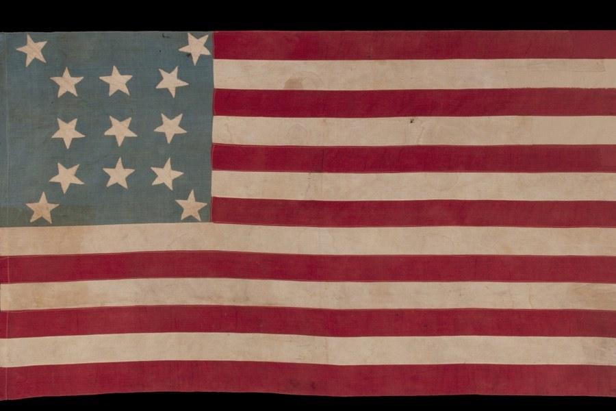 american flags were works