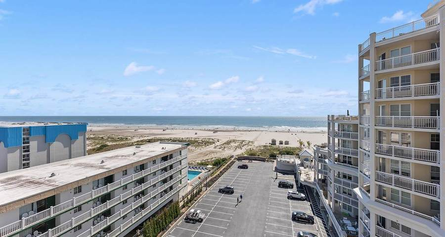 condo for sale diamond beach high-rise view from balcony