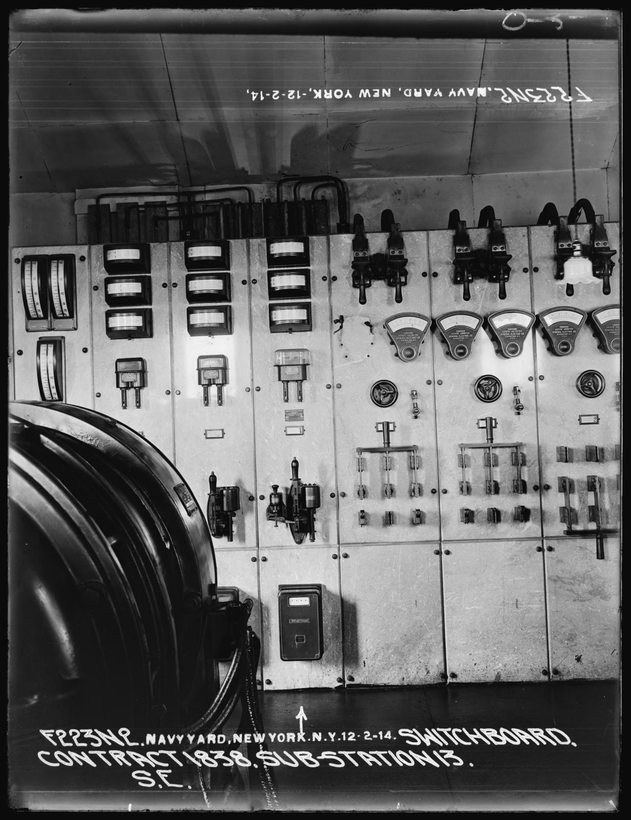 switchboard contract 1838 substation