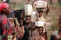 Children Displaced Refugees Rwanda' Bitter Civil