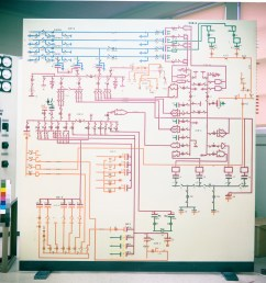 circuit diagram boards in electrical distribution office [ 1600 x 1263 Pixel ]