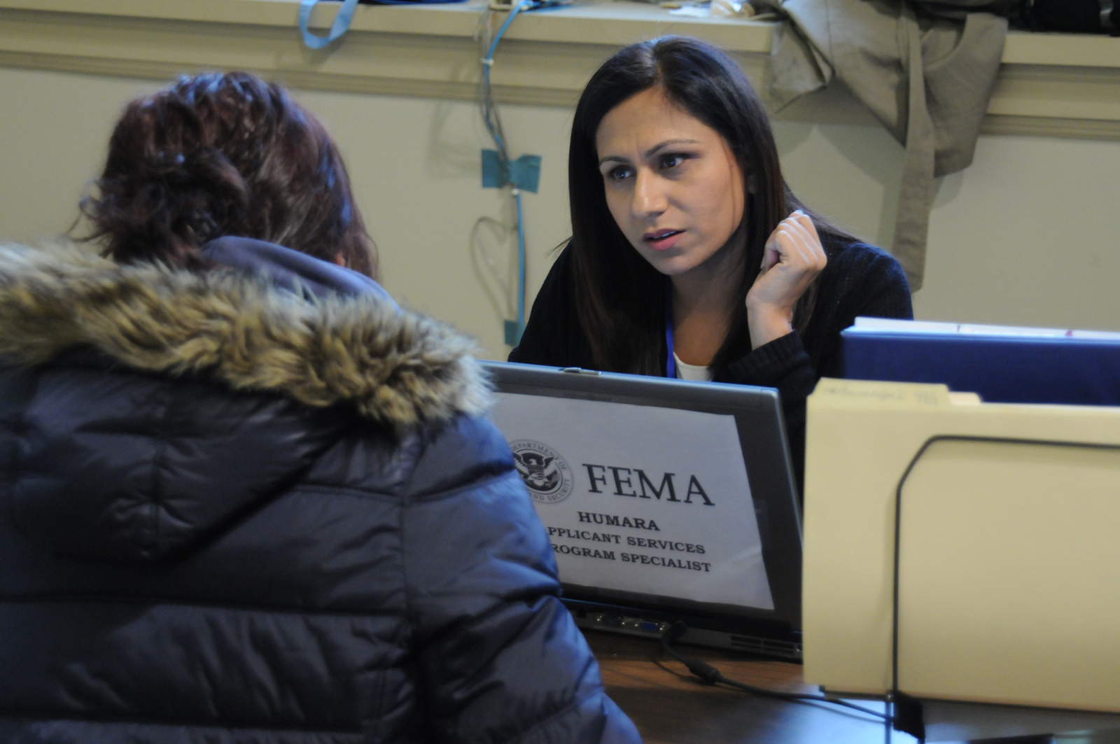 Disaster Recovery Specialist Bayonne N J Dec 1 2012 At The Hudson County Fema Disaster