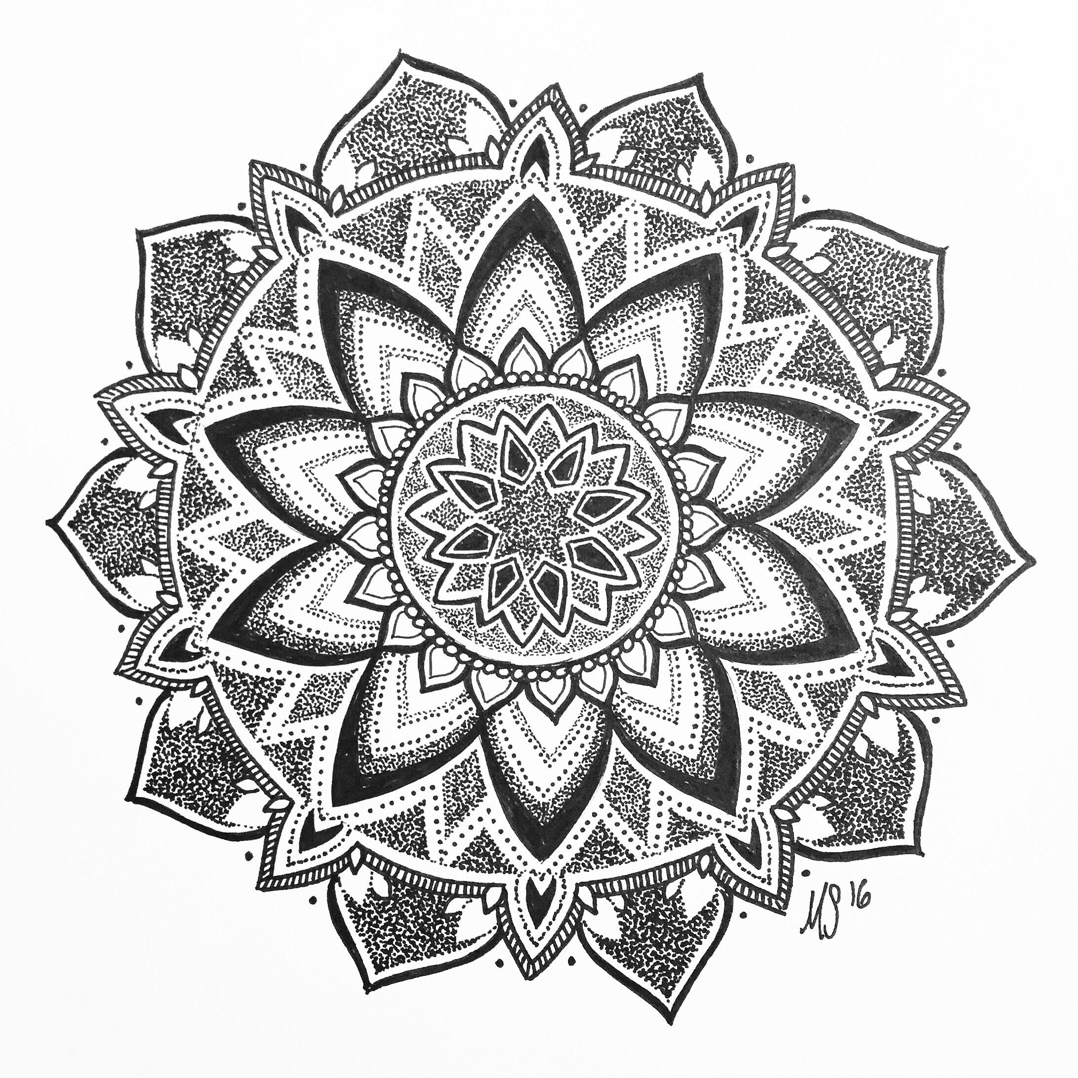 Linework Peony Tattoo Design