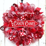 Candy Canes Wreath While They Last