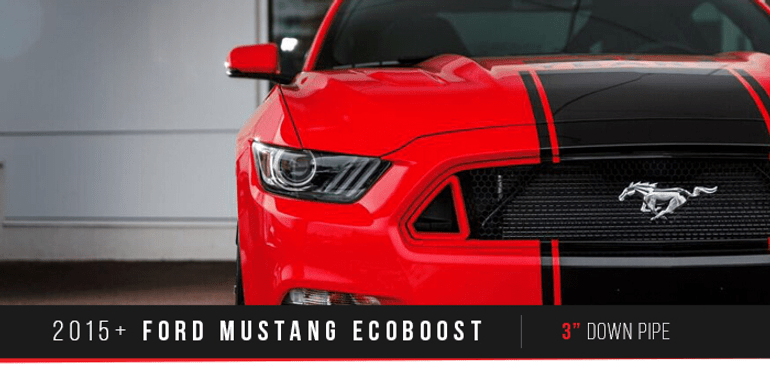 down pipe ford mustang ecoboost 2015